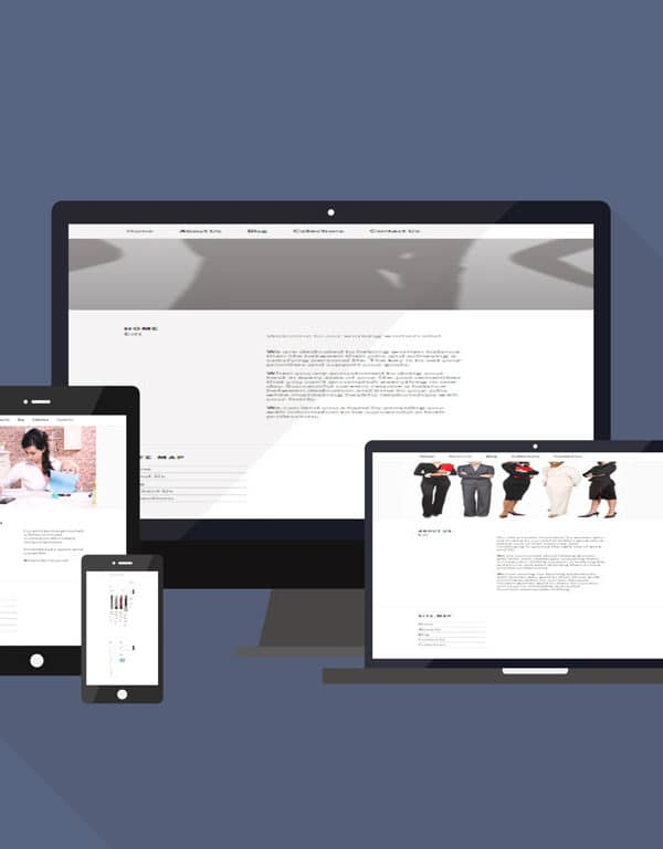 Working Women responsive website