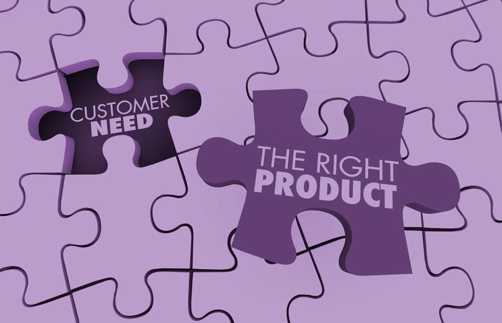 The right product