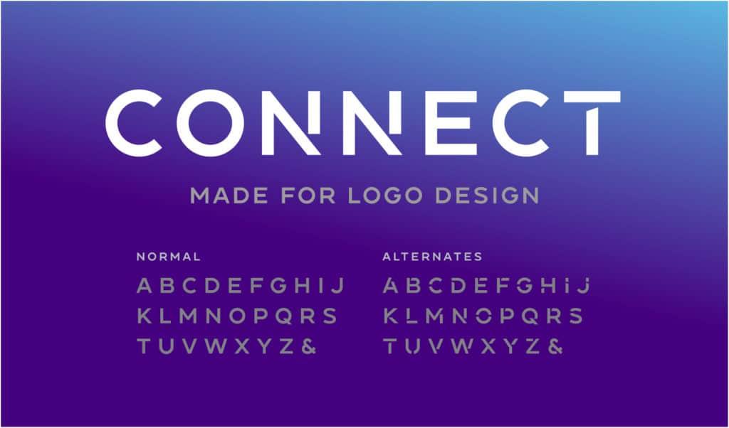 Logo design fonts.