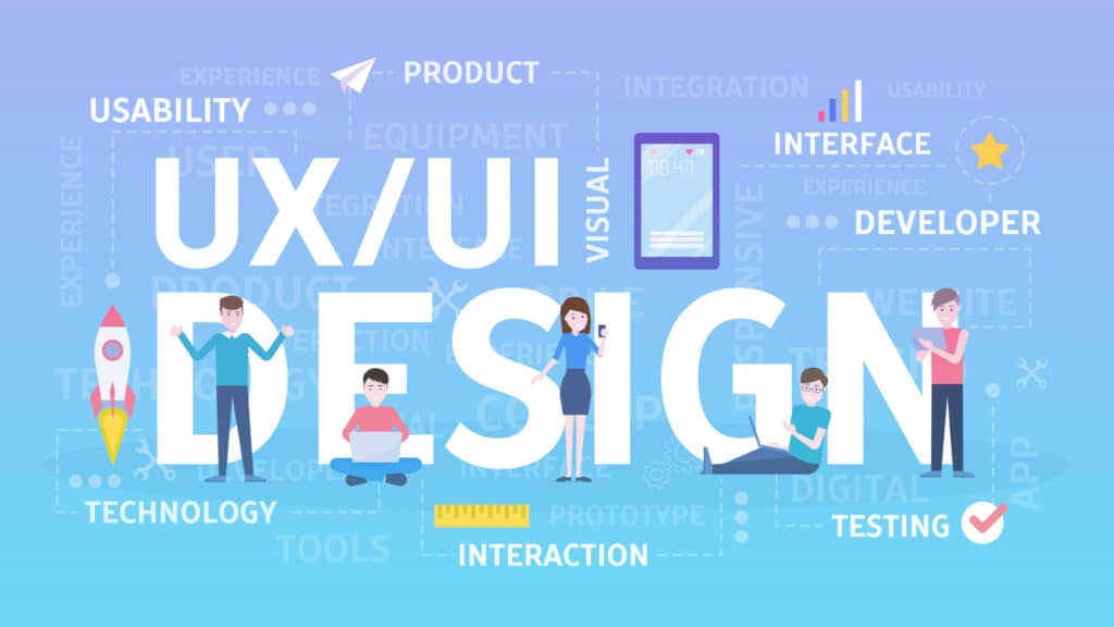 UI and UX design